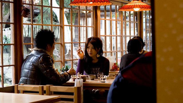 Rauchverbot im Restaurant