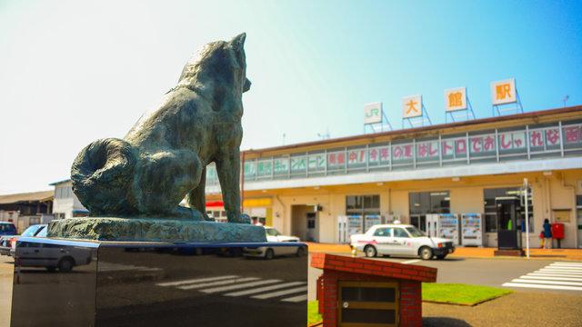 In der Heimatstadt von Hachiko
