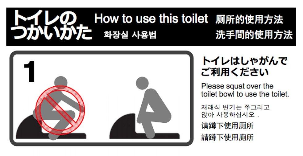 Das japanische Stehklo: Eine Gebrauchsanleitung | Asienspiegel