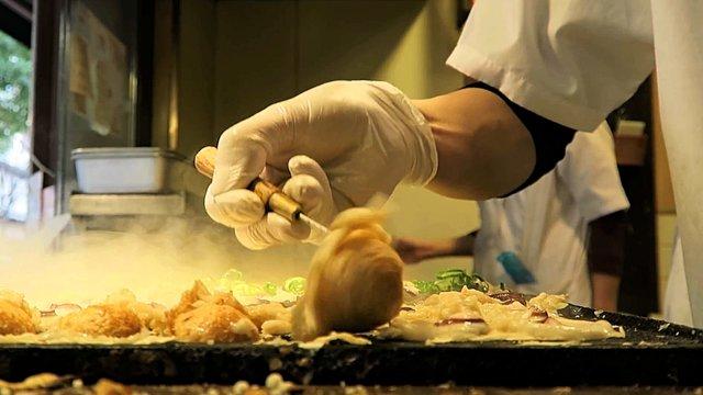 Der Geburtsort der Takoyaki-Speise
