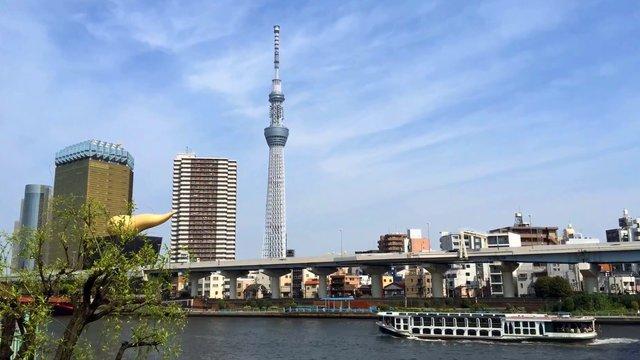 Tokios Wasserfluchtwege für Touristen