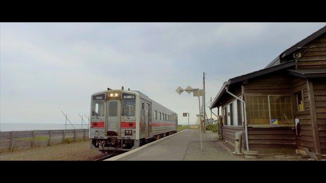 Ein Hauch von Ghibli: Der abgelegene Bahnhof Kitahama