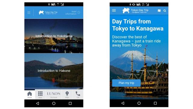 Gratis-Smartphone für Touristen