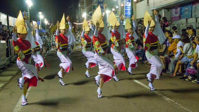 Japans grösste Tanzparty