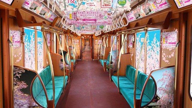 Tokios Kirschblüten-Metro