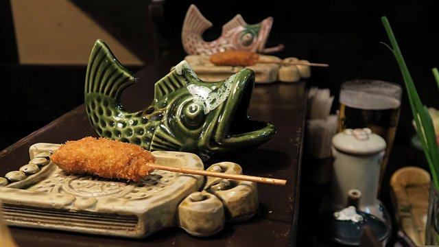 Kushikatsu:  Panierte Köstlichkeiten