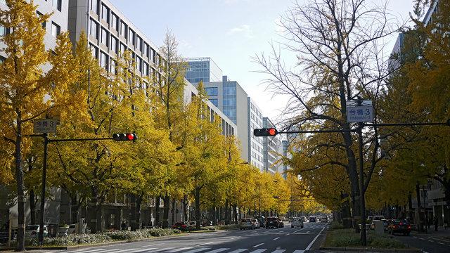 Osakas Jahrhundertprojekt: Die längste Fussgängerzone