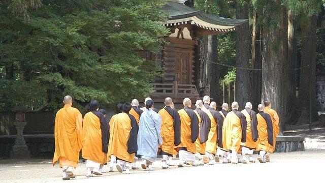 Kōyasan: Überarbeitung im Tempel