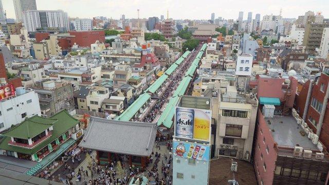 Neue Mietpreise für Tokios berühmte Einkaufsstrasse