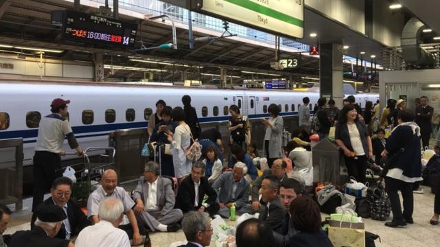 Die fröhliche Geduld der Japaner