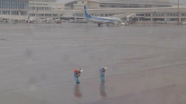 Das höflichste Flughafenpersonal