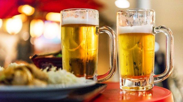 Bier vom Fass im Minimarkt