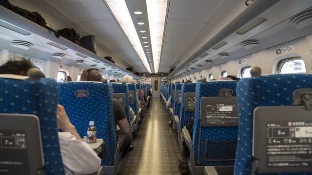 Shinkansen: Gratis-Wifi auf sämtlichen Strecken