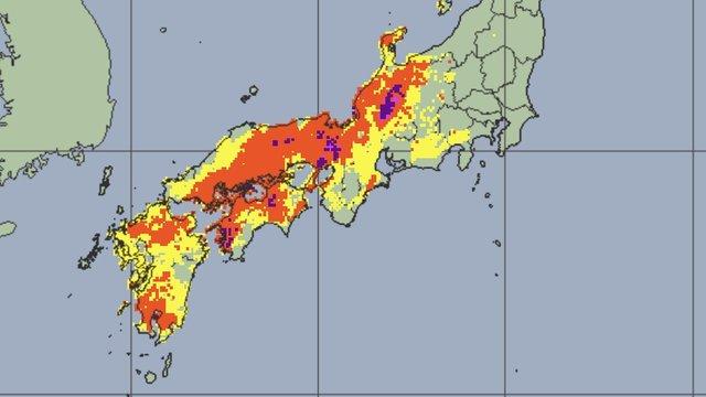 Was tun bei Starkregen und Taifunen in Japan?