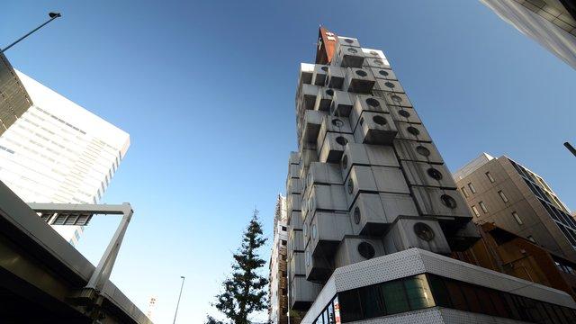 Der Kapselturm von Tokio