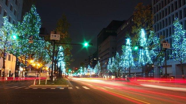 Osaka testet die Fussgänger- und Fahrrad-Avenue