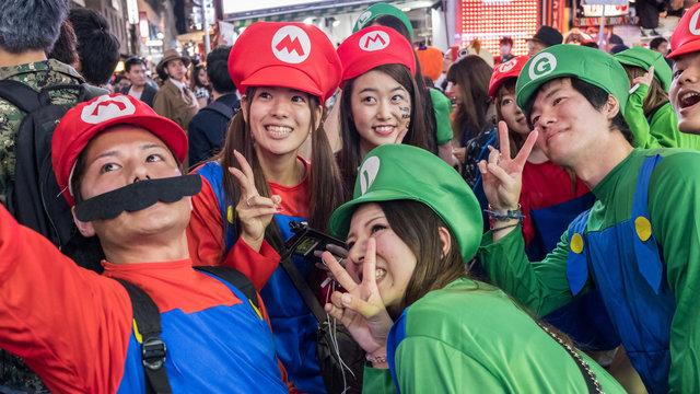 Halloween-Partyzone Shibuya