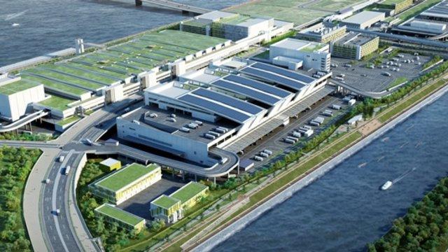 Tokios neuer Fischmarkt ist eröffnet