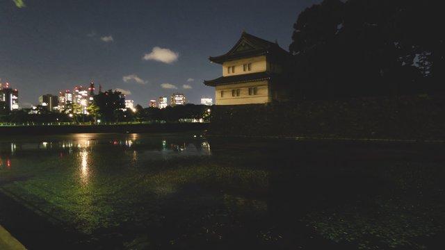 Ein Kaiserpalast ohne Nachtlichter