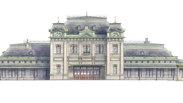 Mojiko: Der Bahnhof aus einer anderen Epoche