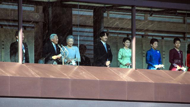 Der letzte Geburtstag als japanischer Kaiser