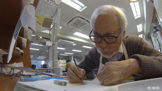 Never-Ending Man: Hayao Miyazaki ganz nah