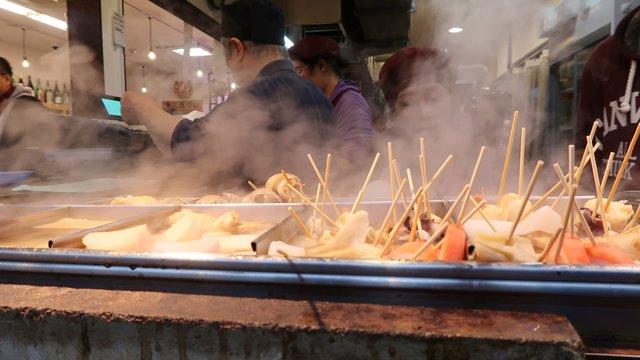 Ōmichō: Das Food-Markt-Paradies in Kanazawa