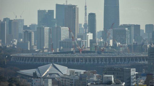 Das Olympiastadion: Ein neues Wahrzeichen für Tokio