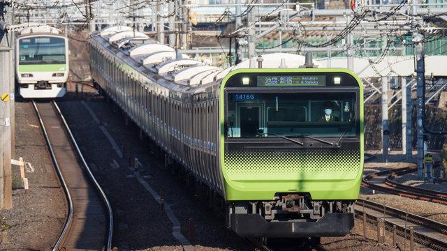 Der Yamanote-Zug der Zukunft
