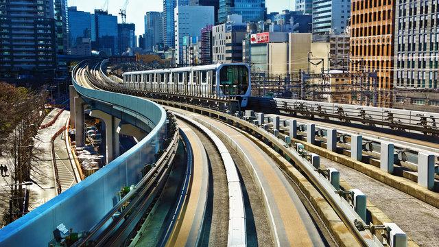 Yurikamome: Tokios automatisierte Bahnlinie