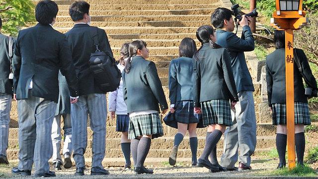 Japanische Schuluniform: Hose oder Rock?