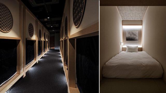 Hotel Zen Tokyo: Das eleganteste Kapselhotel