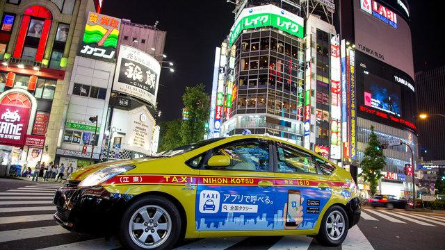 Sorgenfrei Taxi fahren: Japan führt den Pauschalpreis ein