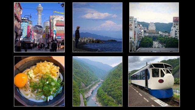 Vom Meer bis zum Fuji, der Mini-Shinkansen und das Udon-Paradies