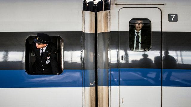 Zugfahren während der Golden Week