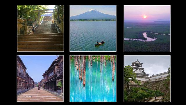 Der Schrein der 1000 Treppen, die immer kühle Stadt, der blaue Teich und ein Zimmer mit Fuji-Sicht