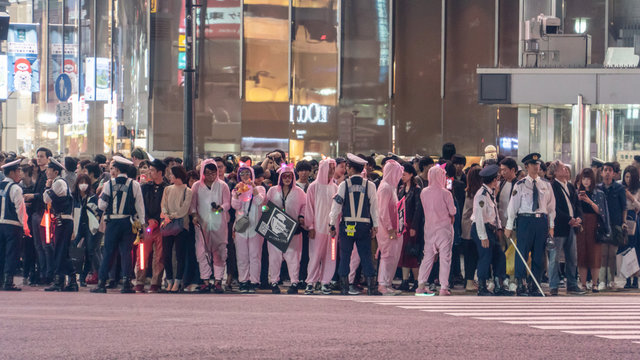 Ein Alkoholverbot für Tokios grösste Halloween-Party
