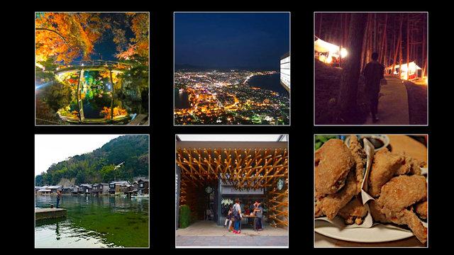 Glamping beim Fuji, eine Schweizer Speise in Japan, ein verzaubernder Garten und Karaage-Hokkaido-Style