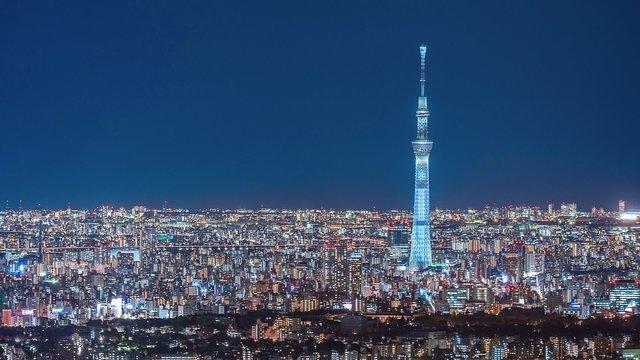 Skytree: Das 634 Meter hohe Wahrzeichen von Tokio