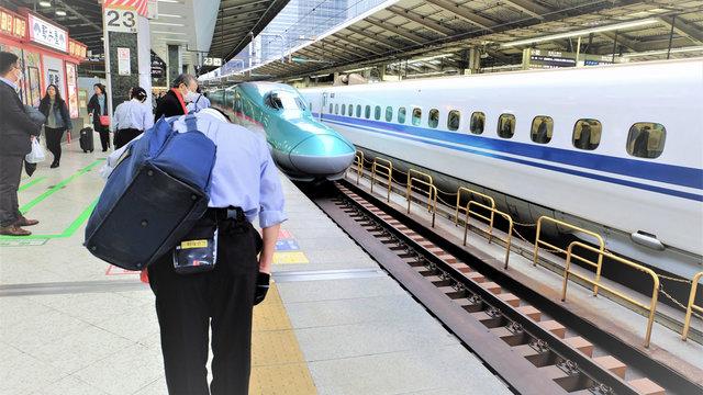 Die stillen Shinkansen-Helden