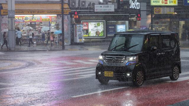 Regen, Taifun oder Tsunami: Die wichtigsten Wetter- und Prognosekarten für Japan