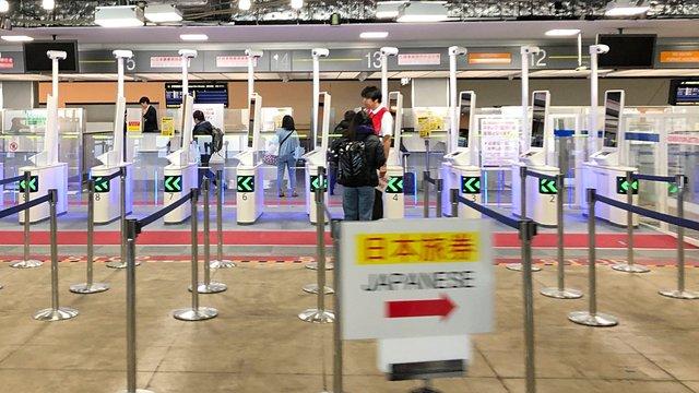 Die automatisierte Ausreise für Touristen