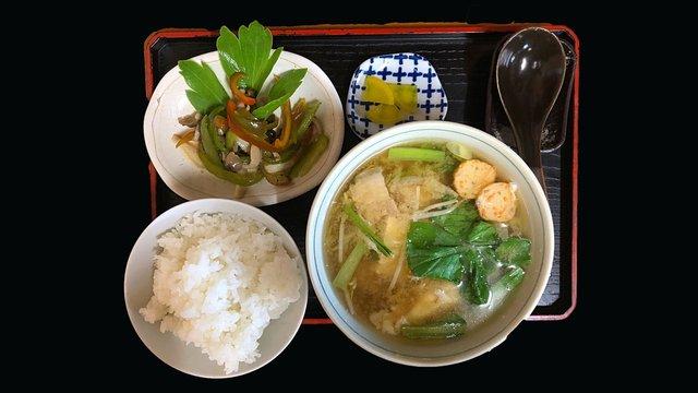 In Okinawa ist die Miso-Suppe ein Hauptgericht