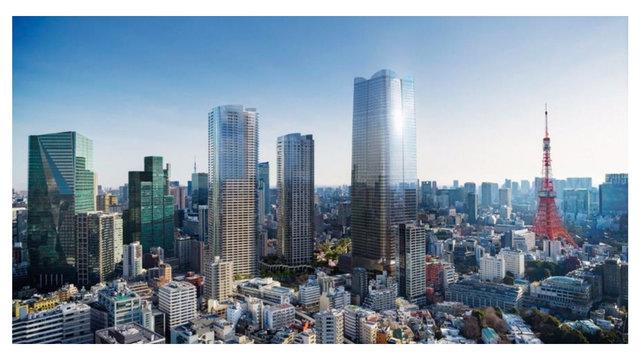 330 Meter: In Tokio entsteht der höchste Wolkenkratzer Japans