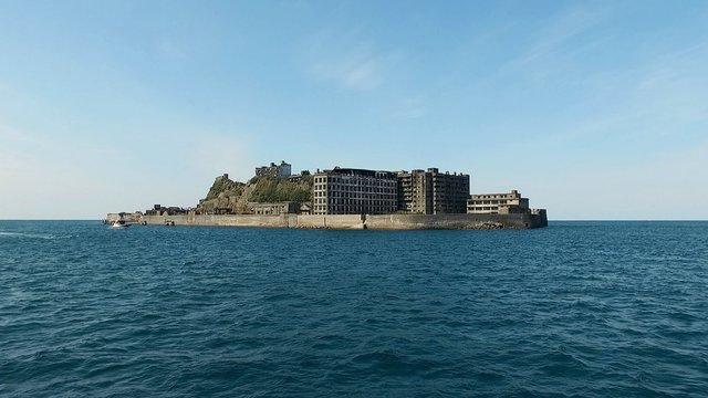 Betreten der Schlachtschiffinsel verboten