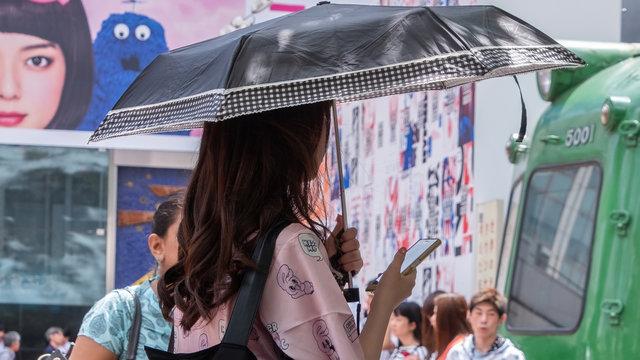 Hitzschlag-Gefahr: Japans heisseste Wochen im Jahr