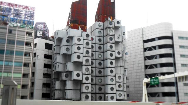 Tokios Kapselturm droht der Abriss