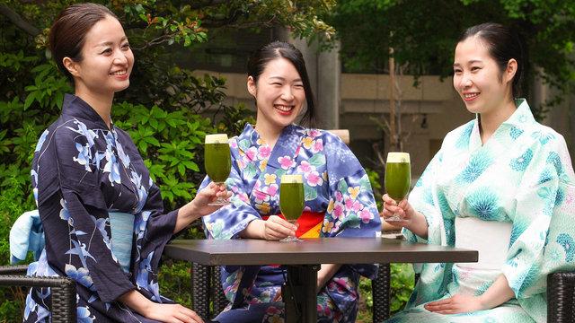 Abkühlung in Tokios Biergärten