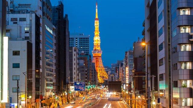 Die neue Aussicht vom Tokyo Tower