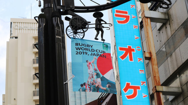 In Japan beginnt der Rugby World Cup